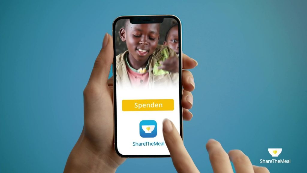 The new ShareTheMeal TVC aims to fight world hunger