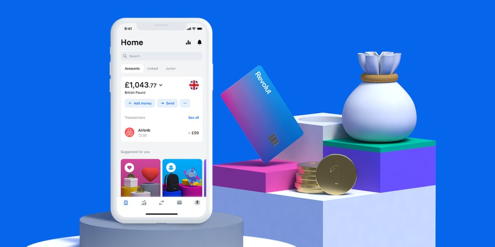 Revolut is an online bank that has received a lot of funding in the last years