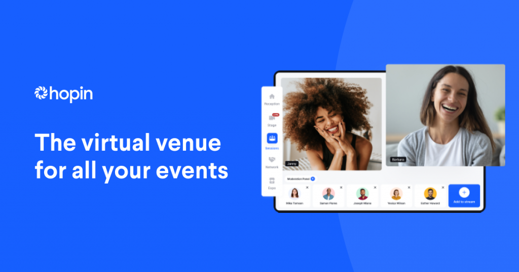 Hopin is a virtual events startup that has received a lot of funding lately