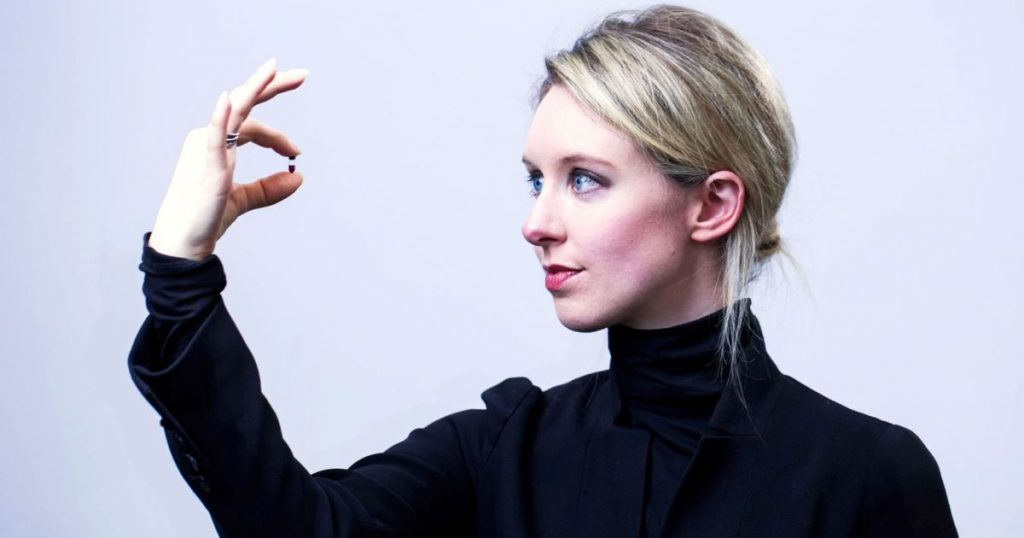 Theranos is a blood-testing startup and one of the biggest startup failures of all time