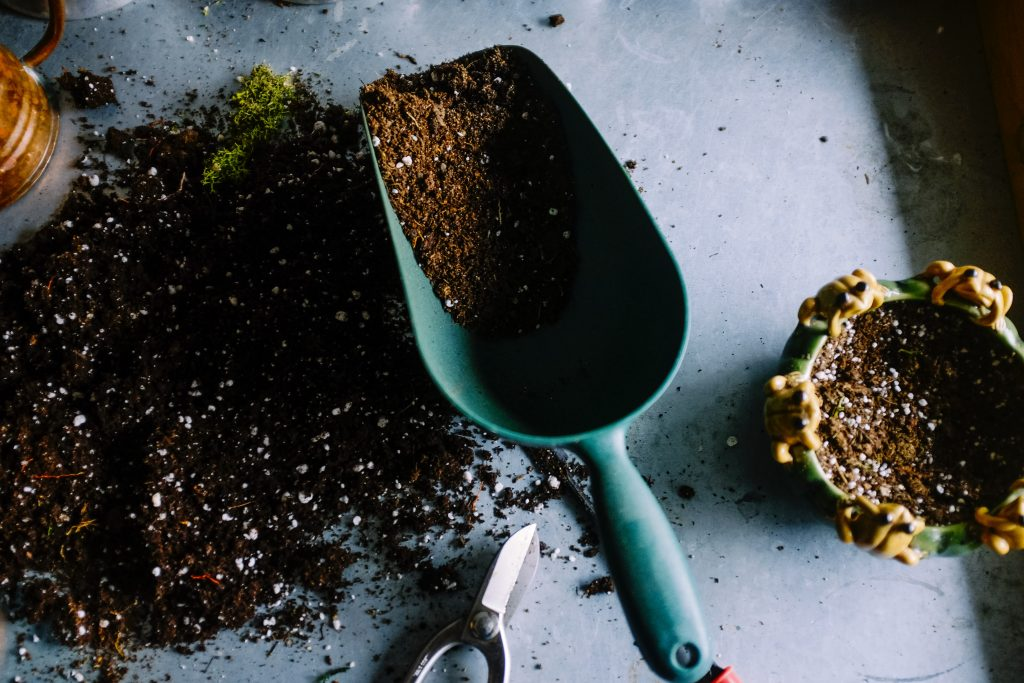 One way to help the planet is to turn your food waste into compost